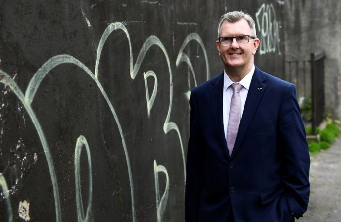 Donaldson seeks to become new leader of Northern Ireland's DUP