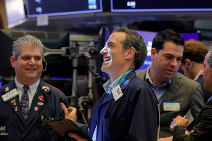 The S&P 500 and Nasdaq indices on Wall Street closed at record highs