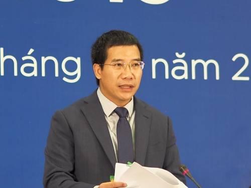 Tổng giám đốc MB Lưu Trung Thái trả lời câu hỏi của cổ đông tại phiên họp thường niên năm 2019. Ảnh: An An.