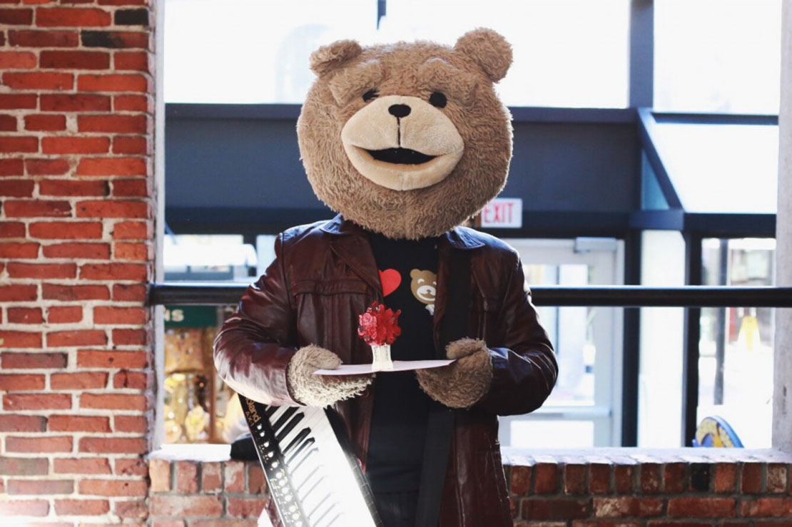 Keytar Bear Could Deliver A Valentines Day Surprise To