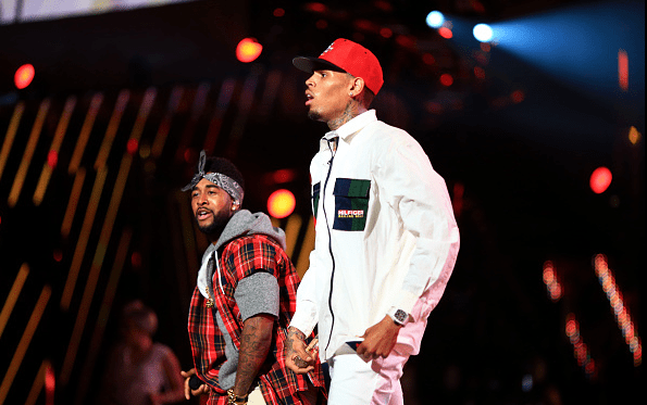 Image result for omarion and chris brown