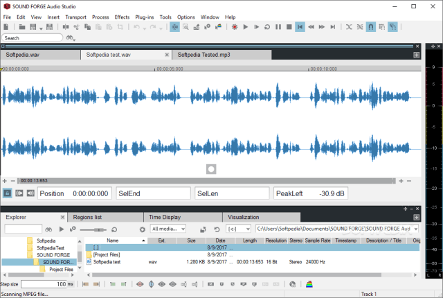 MAGIX SOUND FORGE Audio Studio 13.0