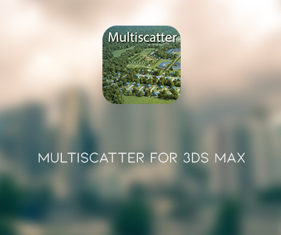 MultiScatter v1.091 for 3ds Max 2014 - 2020