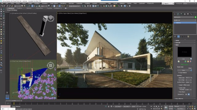 Itoo Forest Pack Pro V.6.3.1 For 3DsMax 2014-2021