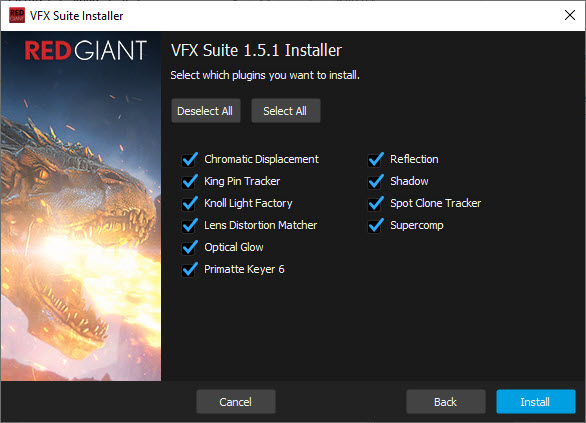 Red Giant VFX Suite v1.5.1
