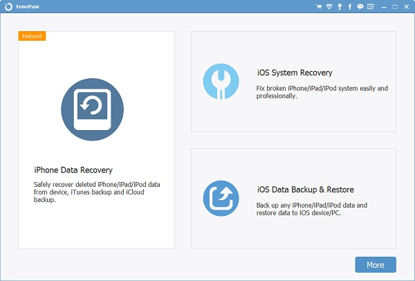 FonePaw iPhone Data Recovery 6.9.0