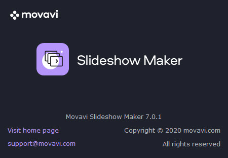 Movavi Slideshow Maker 7.0.1