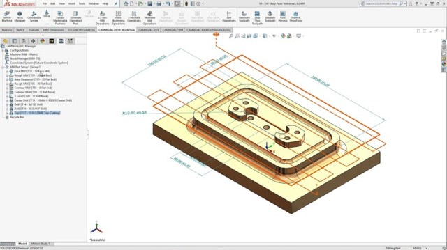CAMWorks 2020 SP0 for SolidWorks 2019-2020