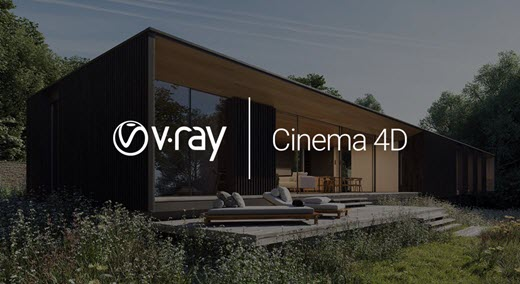 V-Ray For Cinema 4D logo