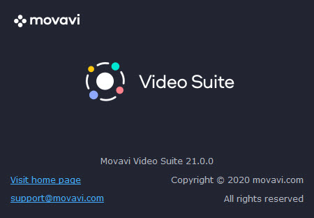 Movavi Video Suite 21.0.0