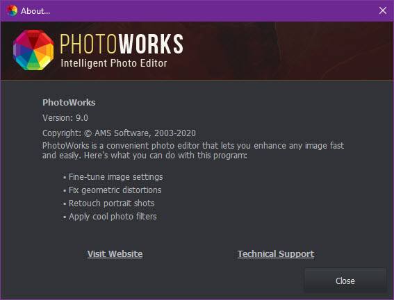 AMS Software PhotoWorks 9.0