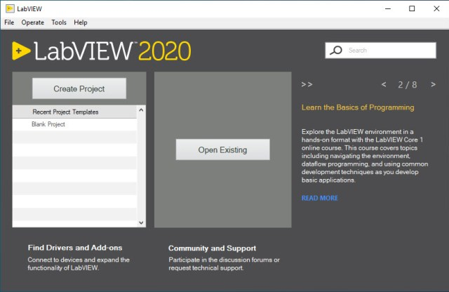NI LabView 2020 v20.0.0 Professional Edition
