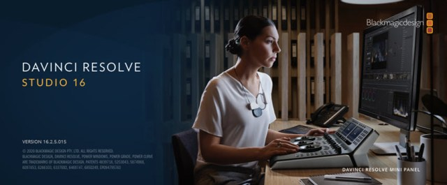 DaVinci Resolve Studio 16.2.5.15