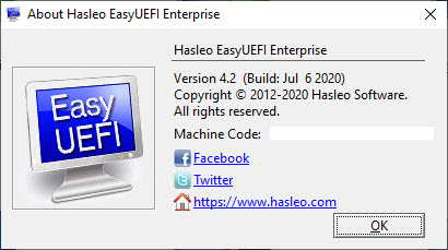 EasyUEFI Enterprise 4.2