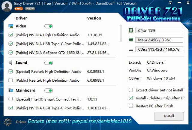 Easy Driver Pack 7.20.1009.1