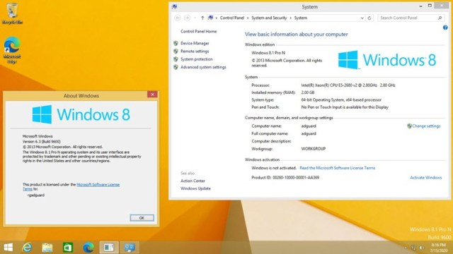 Windows 8.1 Pro ISO July 2020