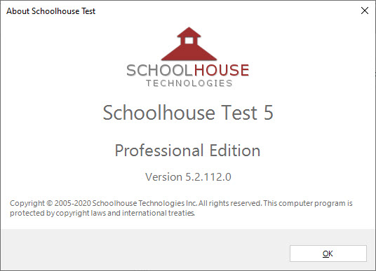 Schoolhouse Test Professional Edition 5.2.112.0
