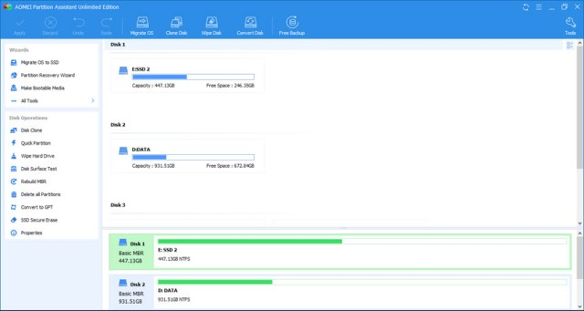 AOMEI Partition Assistant 9.0