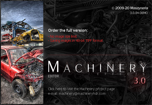 Machinery HDR Effects 3.0.84
