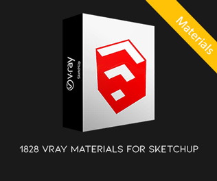 1828 VRAY MATERIALS FOR SKETCH UP