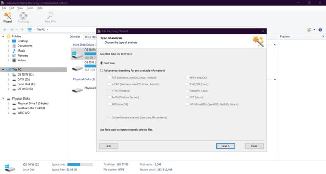 Hetman Data Recovery Pack 3.1 All Editions