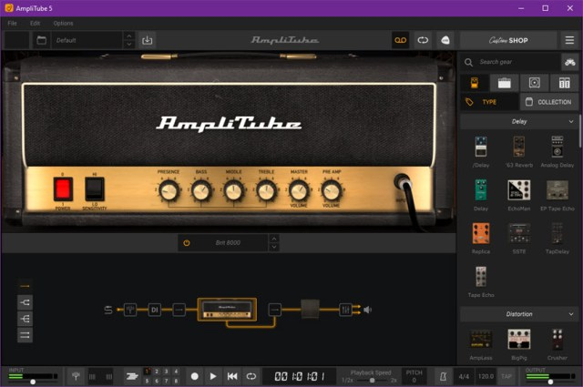 IK Multimedia AmpliTube 5.01