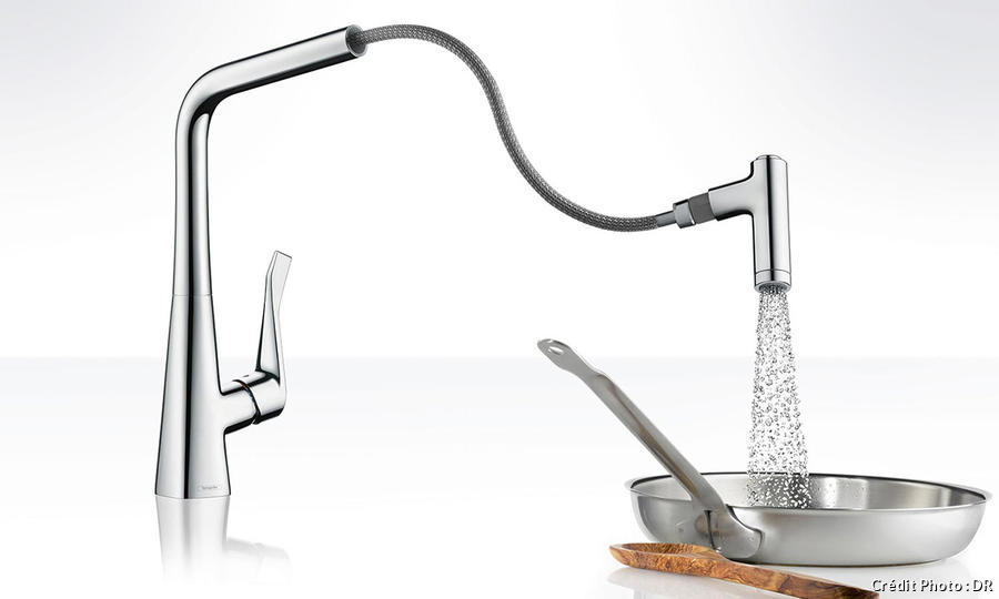 mitigeur avec douchette robinet de
