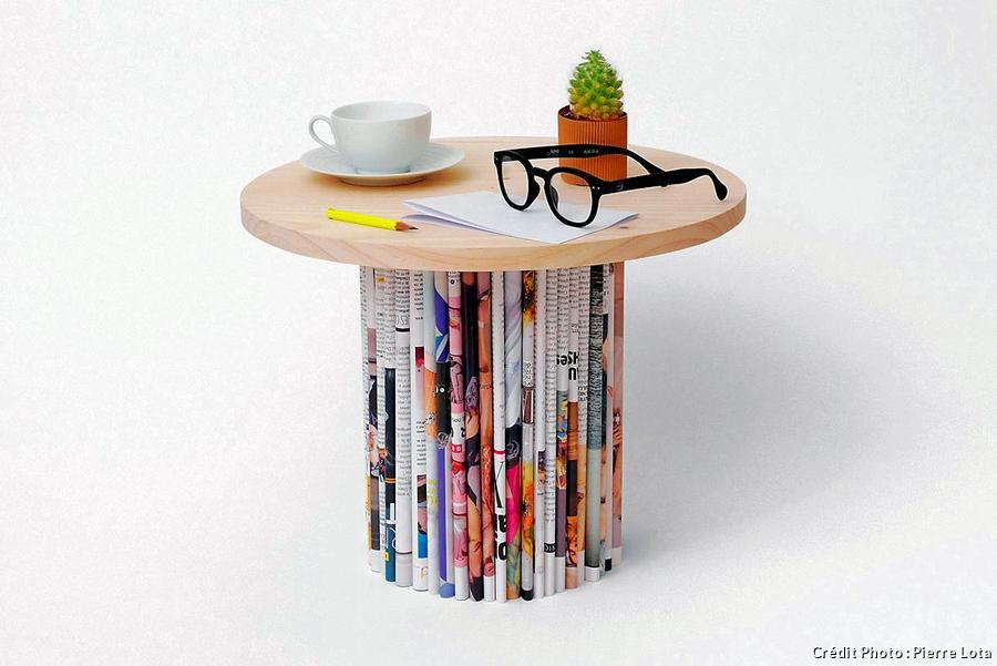 fabriquer une table basse fait maison