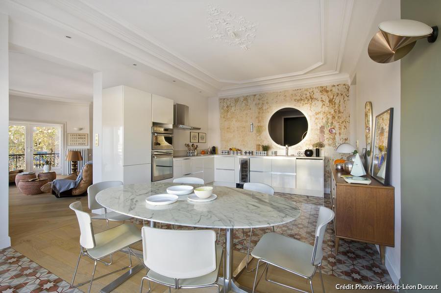 salon cuisine chambre