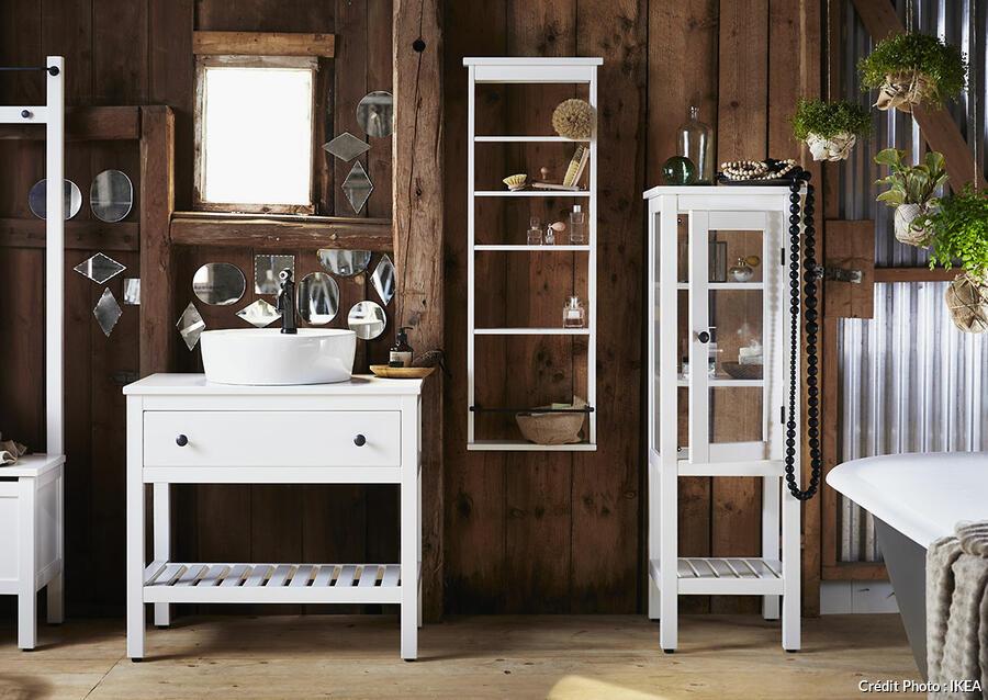 12 Idees A Piquer A Ces Salles De Bains Ikea Maison Creative
