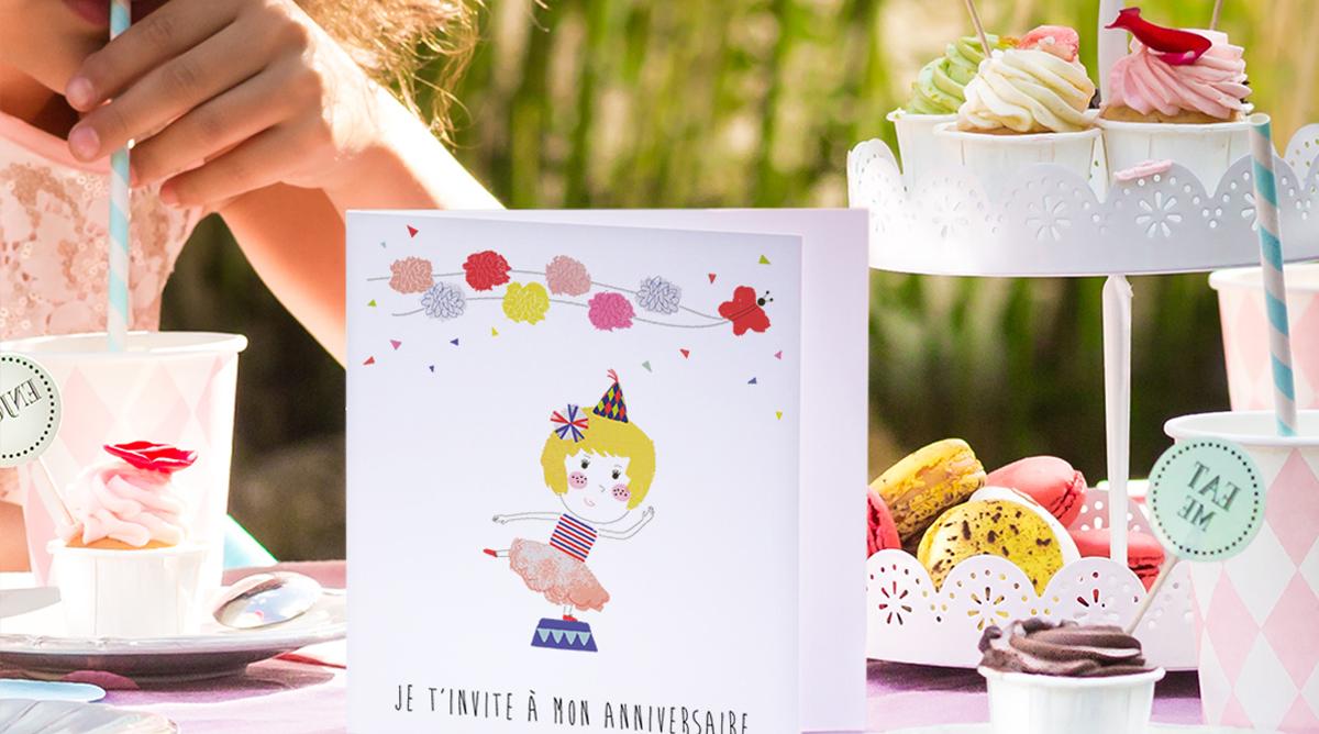 carte d invitation pour un anniversaire