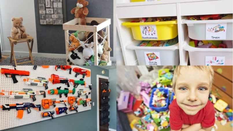 20 astuces pour ranger les jouets des