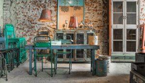 stoelen, indistrieel middelburg, eetkamerstoelen, stoelen, stoer, chique, robuust, velvet, metaal,