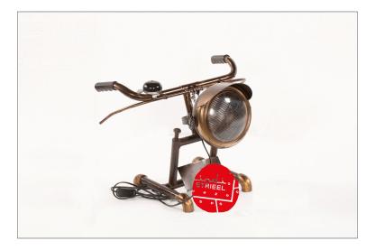 Tafellamp-fietsstuurlamp-met-bel-te-koop-en-gemaakt-voor-winkel-Indistrieel-in-Middelburg