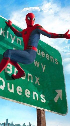 صور خلفيات الرجل العنكبوت عالية الدقة للايفون