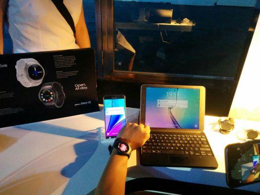 Sinkronisasi dari G2 ke smartphone dan tablet.