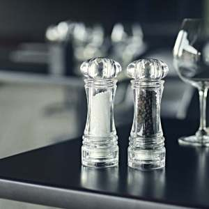 CrushGrind Berlin Salt & Pepper Mill Acrylic