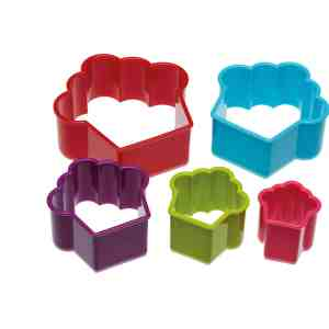 Cookie Cutters Shapes Colourworks Cupcake