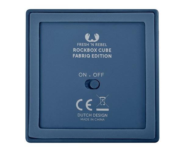 Fresh'n Rebel Rockbox Cube Bluetooth Speaker Backside