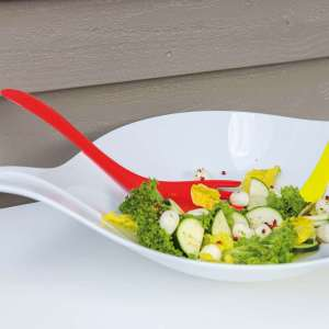 Salad Bowl Koziol Design 3 liter LEAF L+