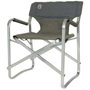 Coleman Deck Chair Comfortable Camping Outdoor Green