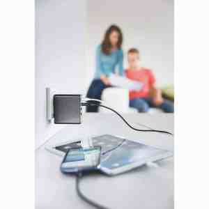 USB Charger Multi Port HAMA 4 Port