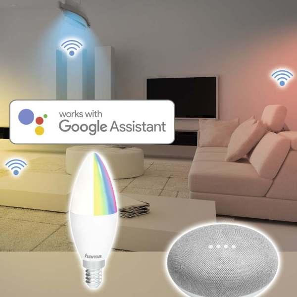 LED Bulb Smart Home WiFi HAMA E14  RGB