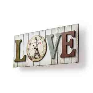 Clock Time Watch Love Nedis