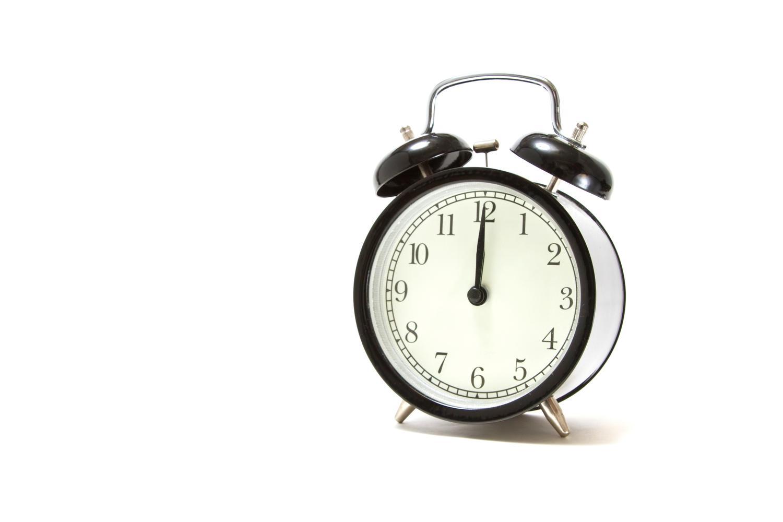 実は、目覚まし時計は必要なかった