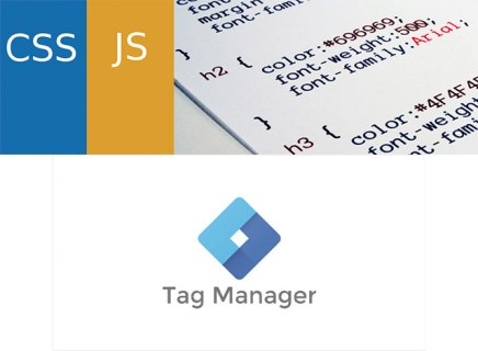 Simple Custom CSS and JSとGoogle tag manager