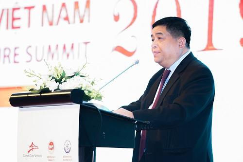 Bộ trưởng đưa ra các cam kết với hệ sinh thái khởi nghiệp Việt Nam.