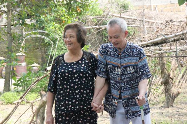 Vợ chồng ông Trần Công Viên và bà Nguyễn Thị Hạnh.