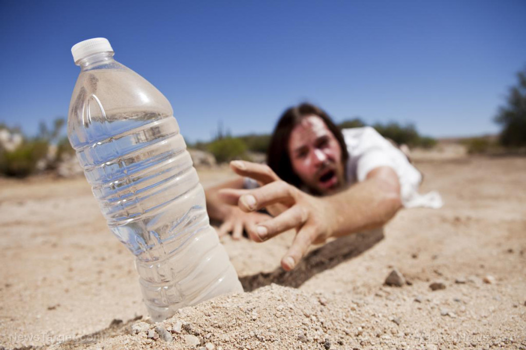 Man-Thirst-Desert-Water-Bottle-Reach