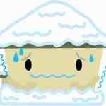 落雪による雨樋・波板の破損に注意を